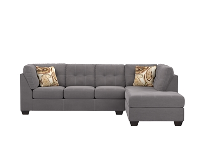Pillows Slate Sectional Product Photo 626