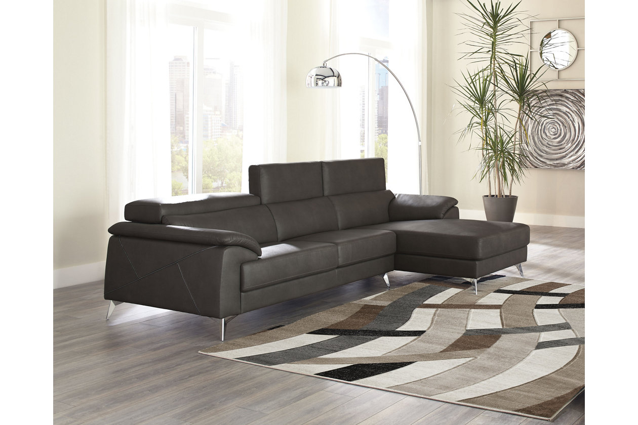 Tindell 2-Piece Sectional with Chaise | Ashley Furniture ...