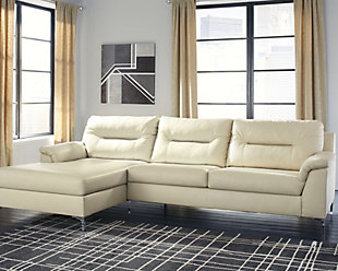 Tensas 2-Piece Sectional with Chaise, Ice, rollover