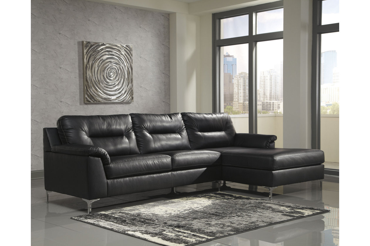 Strange Tensas 2 Piece Sectional With Chaise Ashley Furniture Cjindustries Chair Design For Home Cjindustriesco