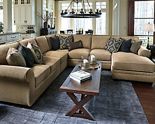 Amandine 5-Piece Sectional with Chaise, , rollover