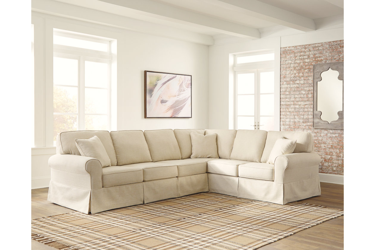 Outstanding Shermyla 3 Piece Sectional Ashley Furniture Homestore Dailytribune Chair Design For Home Dailytribuneorg