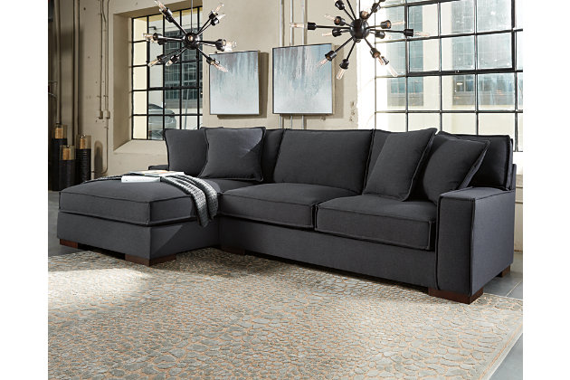 View  sc 1 st  Ashley Furniture HomeStore : charcoal sectional with chaise - Sectionals, Sofas & Couches