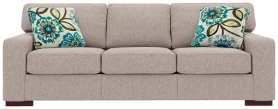 Ashlor Nuvella® Sofa and Pillows, Slate, large