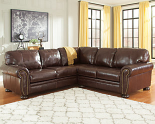 Banner 2-Piece Sectional, Coffee, rollover