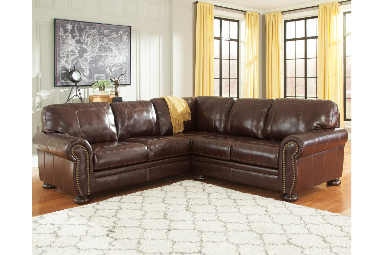 Banner 2-Piece Sectional | Ashley Furniture HomeStore