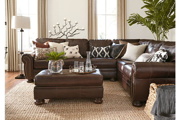 Banner 2-Piece Sectional, Coffee, large