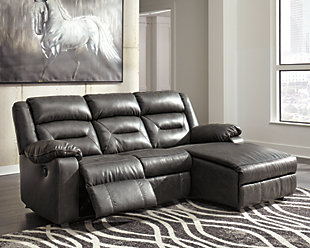 Coahoma 3-Piece Reclining Sectional with Chaise and Power, , rollover