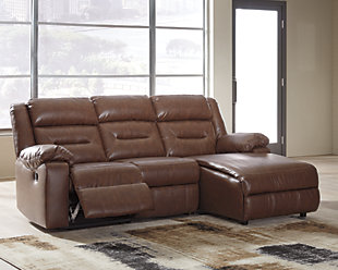 Coahoma 3-Piece Reclining Sectional with Chaise, , rollover