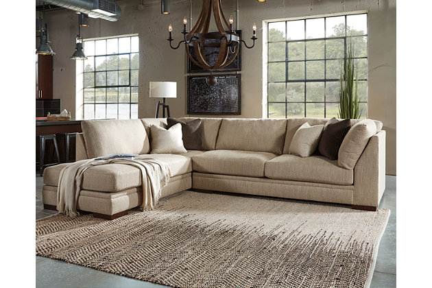 Elegant Malakoff 2 Piece Sectional, , Large ...