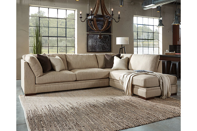 Superb Malakoff 2 Piece Sectional, , Large ...