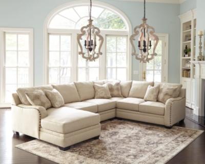 Luxora 4Piece Sectional Ashley Furniture HomeStore