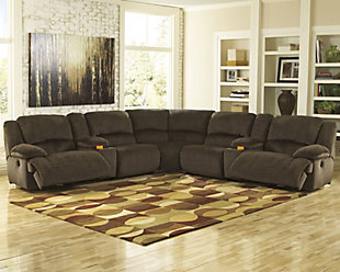 Toletta 7-Piece Reclining Sectional, , large
