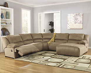 Hogan 5-Piece Sectional, , rollover