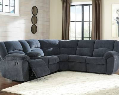 User friendly Sectional Indigo Piece Product Photo