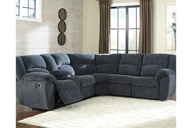 Timpson 2-Piece Sectional by Ashley HomeStore, Blue