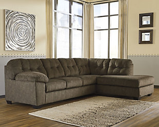 Accrington 2-Piece Sectional, Earth, rollover