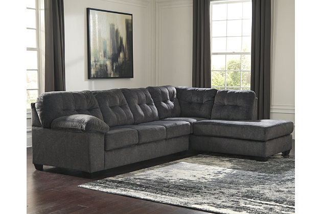 Sensational Accrington 2 Piece Sectional With Chaise Ashley Furniture Download Free Architecture Designs Scobabritishbridgeorg