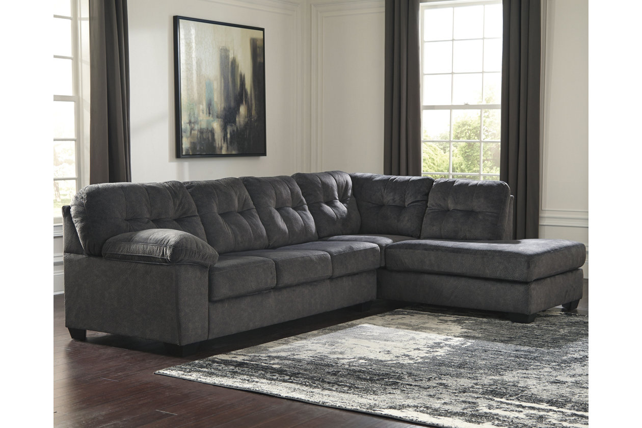 Astonishing Accrington 2 Piece Sectional With Chaise Ashley Furniture Gamerscity Chair Design For Home Gamerscityorg