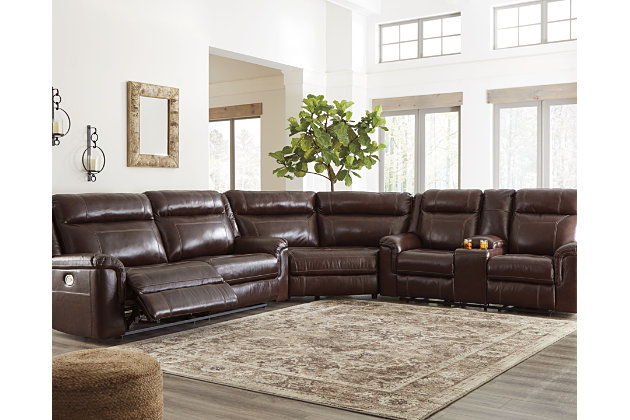 Wyline 3-Piece Reclining Sectional with Power, , large