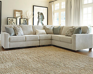 Lovely Salonne 3 Piece Sectional