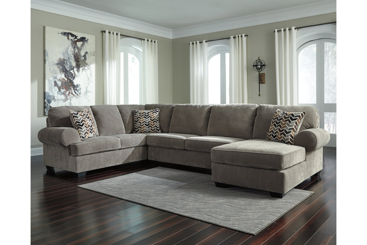 Jinllingsly 3-Piece Sectional with Chaise | Ashley Furniture ...