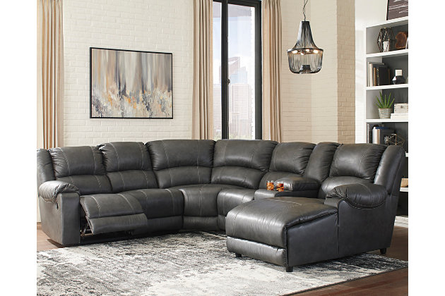 Brambleton 6-Piece Sectional, , large