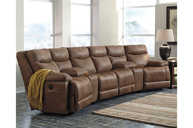 Decorating idea using this item  sc 1 st  Ashley Furniture HomeStore : leather sectional ashley furniture - Sectionals, Sofas & Couches