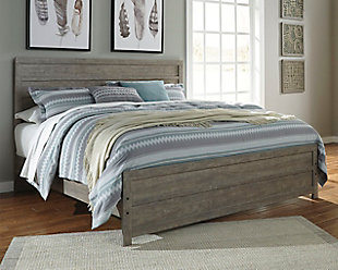 Culverbach King Panel Bed, Gray, rollover
