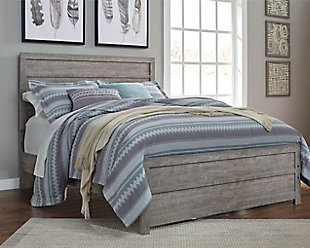 Culverbach Queen Panel Bed, Gray, rollover
