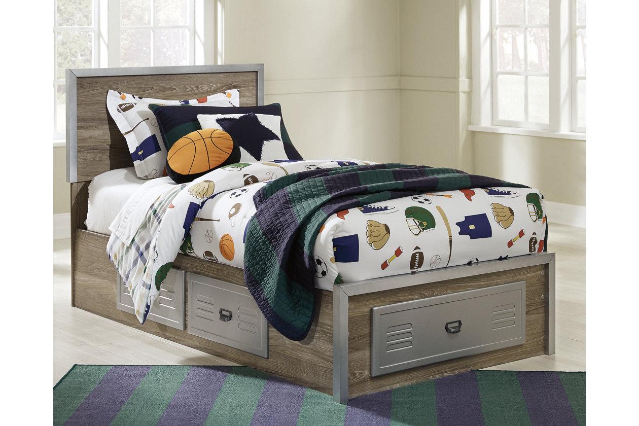 McKeeth Twin Panel Storage Bed | Ashley Furniture HomeStore