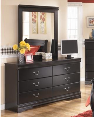 Huey Vineyard Dresser and Mirror, , large