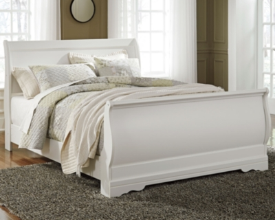 Picture of: Anarasia Queen Sleigh Bed Ashley Furniture Homestore