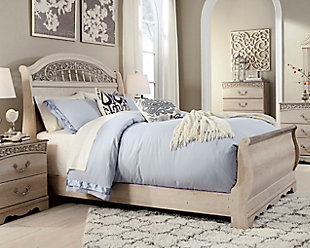 Catalina Queen Sleigh Bed, , rollover
