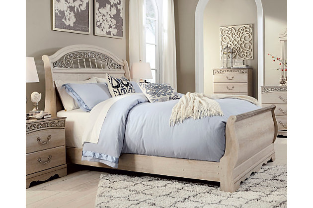 Catalina Queen Sleigh Bed, , large