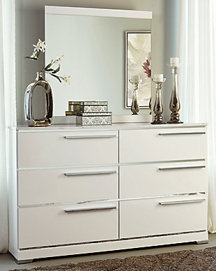 Brillaney Dresser and Mirror, , large