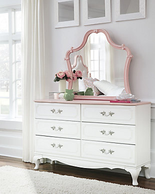 Laddi Dresser and Mirror, , rollover