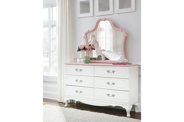 Laddi Dresser and Mirror, , large