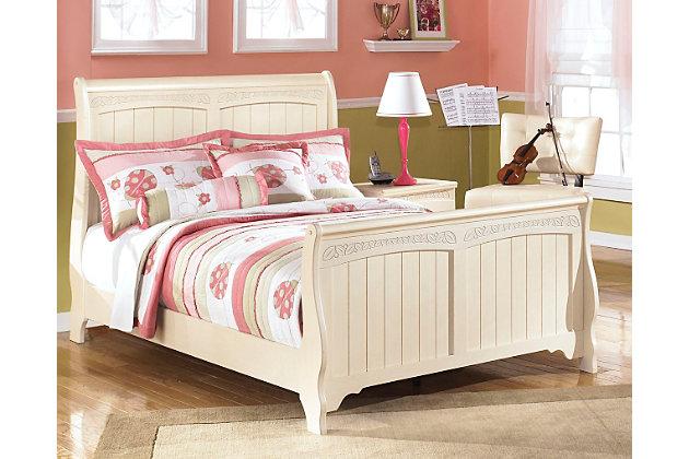 Cottage Retreat Full Sleigh Bed | Ashley Furniture HomeStore