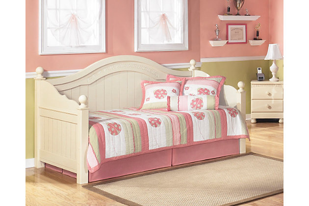 Cottage retreat twin day bed ashley furniture homestore Cottage retreat collection bedroom furniture