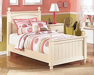 Cottage Retreat Twin Bed with 2 Nightstands, , large