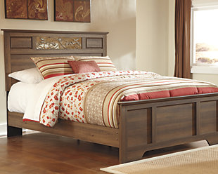 Allymore Queen Panel Bed, , rollover