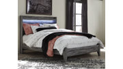 Baystorm Queen Panel Bed, Gray, large