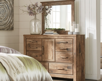 Blaneville Dresser and Mirror, , large