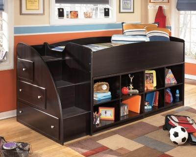 Ashley Loft Bookcase Bed Right Steps Embrace
