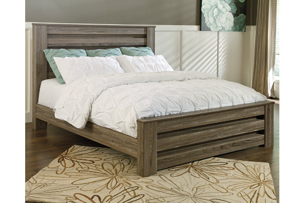 Zelen Queen Panel Bed Ashley Furniture Homestore