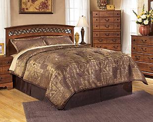 Timberline Queen Panel Bed, , rollover