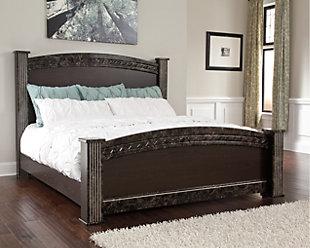 Vachel Queen Poster Bed, , rollover