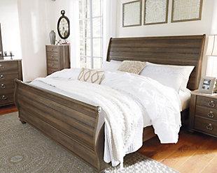 Birmington Sleigh Bed, , rollover