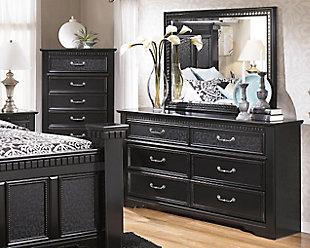 Cavallino King Mansion Bed | Ashley Furniture HomeStore